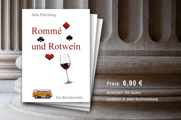 Rommé und Rotwein | von Jutta Ebersberg